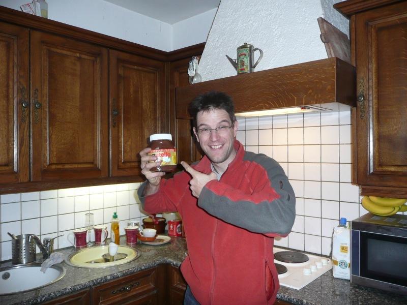 Nutella Man