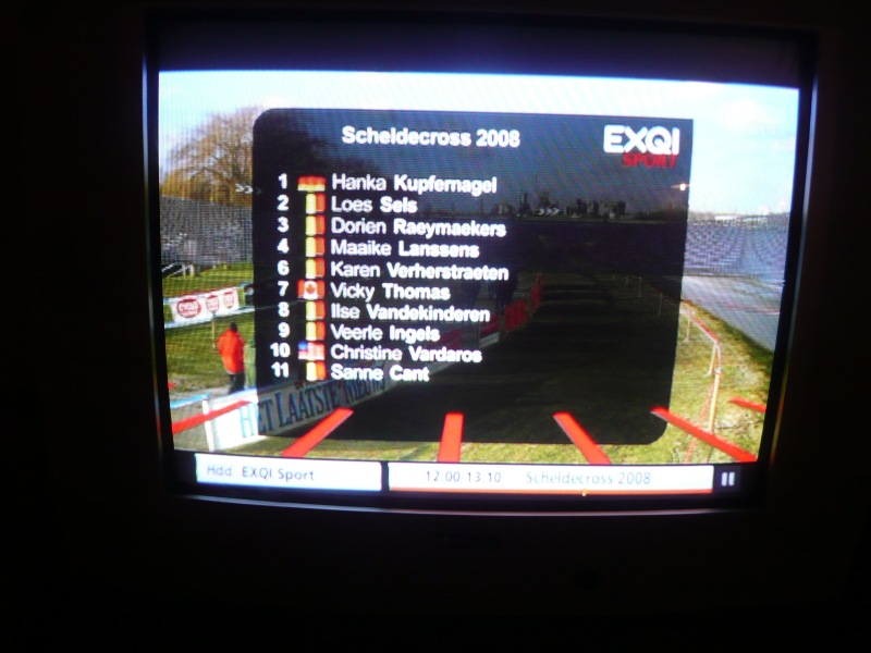 Scheldecross name on television