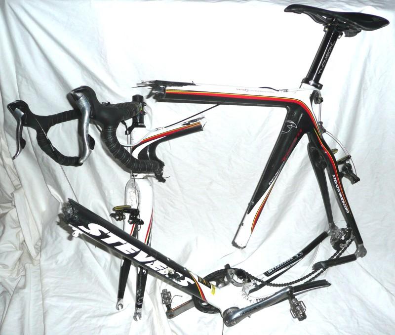Ed's broken bike