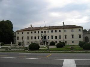 Impressive building in Treviso, Italy