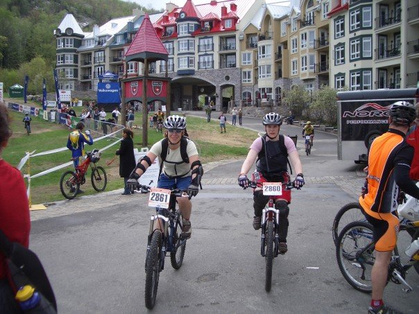 My last mountain bike race at Mt. Tremblant.